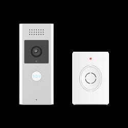 RECHARGEABLE WIFI SMART VIDEO DOOR PHONE WITH DOOR CHIME