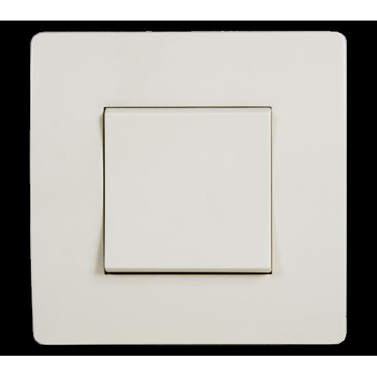 INTRERUPATOR CAP SCARA BASIC TG102 CREM