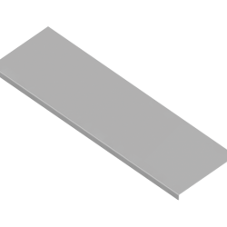 CAPAC PROTECTIE CT1 H:10 W:150 T:0,8mm L:2500mm