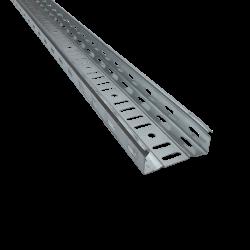 CANAL DE CABLU METALIC PERFORAT CT1 UT H:40MM W:300MM T:0,8MM L:2500MM