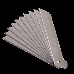 KNIFE SPARE BLADES 9MM, 10PCS