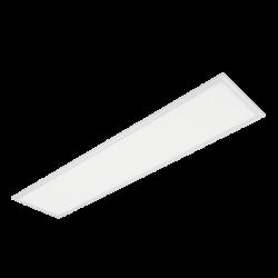 LED PANEL 45W 4000K-4300K 1195X295mm CADRU ALB IP44