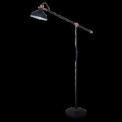 LAMPADAR JOHN  1XE27 NEGRU H1500mm