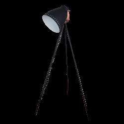 LAMPADAR MAX  1XE27 NEGRU H1450mm