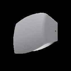 ABRAM 190 LED WALL LAMP 8.5W 4000K IP55 GREY
