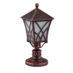 LAMPADAR GRADINA ALEK STAND 1XE27 ALAMA ANTICHIZATA H370mm