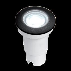ALDO LED IN-GROUND FIXTURE 1.7W 4000K IP67 BLACK