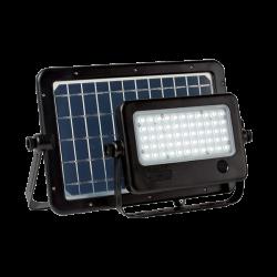 SOLAR LED FLOODLIGHT SENSOR 50W IP65 MOV. PANEL