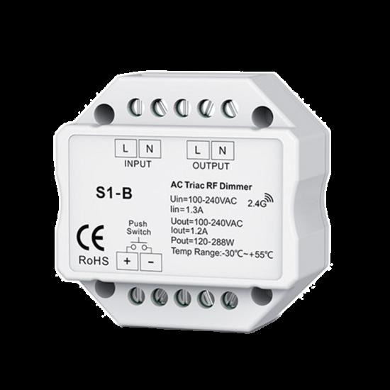 VARIATOR SMART RF 1-CANAL TRIAC (MONTAJ IN CASETA)