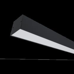 PROFIL LED APARENT S77 24W 4000K 600MM NEGRU
