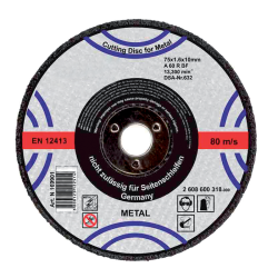 CUTTING DISK FOR METAL 180х3.2х22.2mm