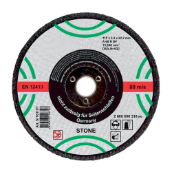 CUTTING DISC STONE 125x3.2x22.2mm