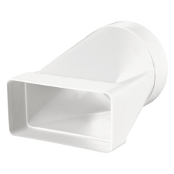 ADAPTOR PLAT-ROTUND PVC 511 D100/55X110 /KS